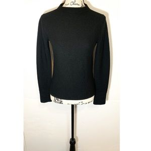 Club Monaco Cropped Fitted Sweater Long-Sleeve